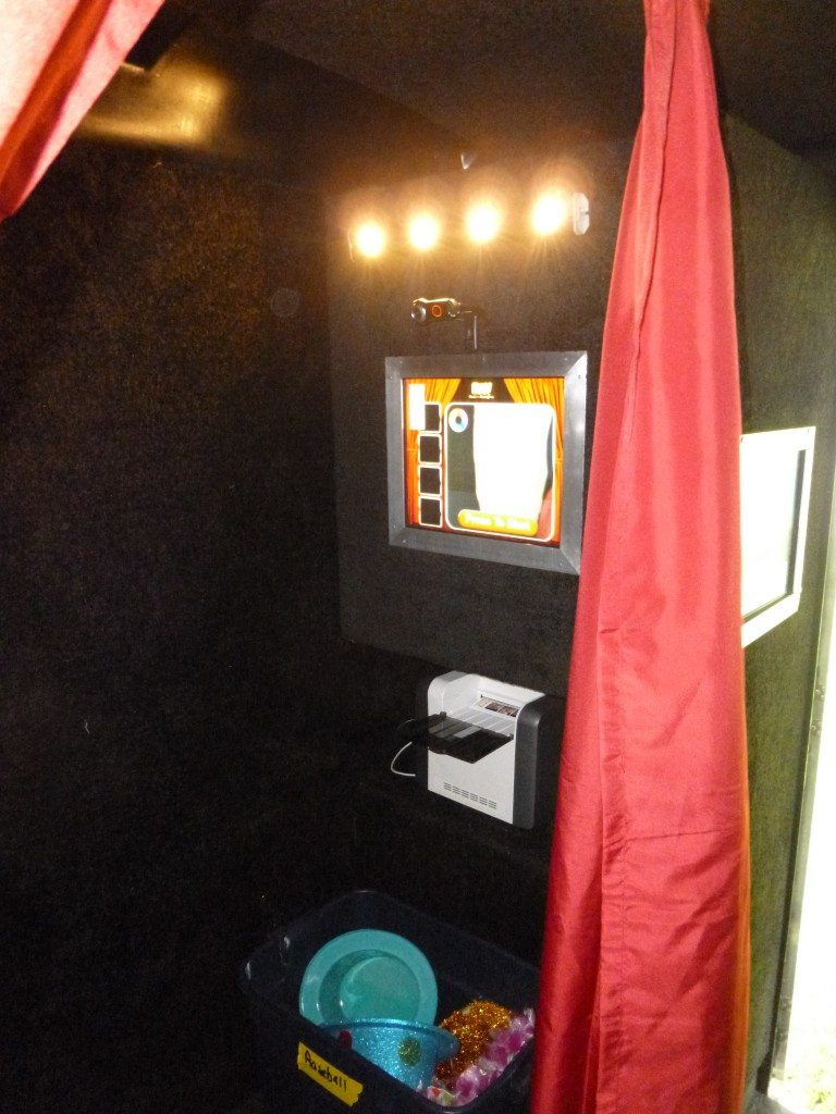 photo booth, video game party,