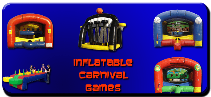 inflatable carnival game rentals cleveland akron canton oh ohio
