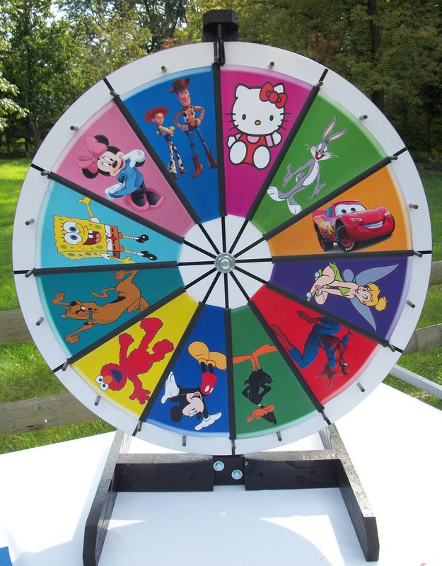 Wheel Spin Carnival Game Inflatables Mobile Video Game