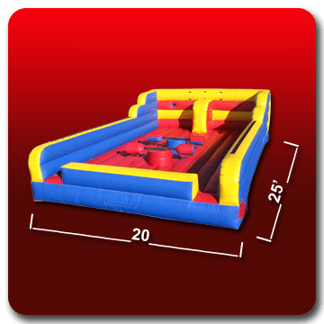 inflatables, joust rental, inflatable joust, jousting arena