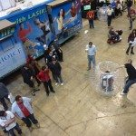 ohio mobile gaming, inflatables, body zorb, video gaming parties, laser maze