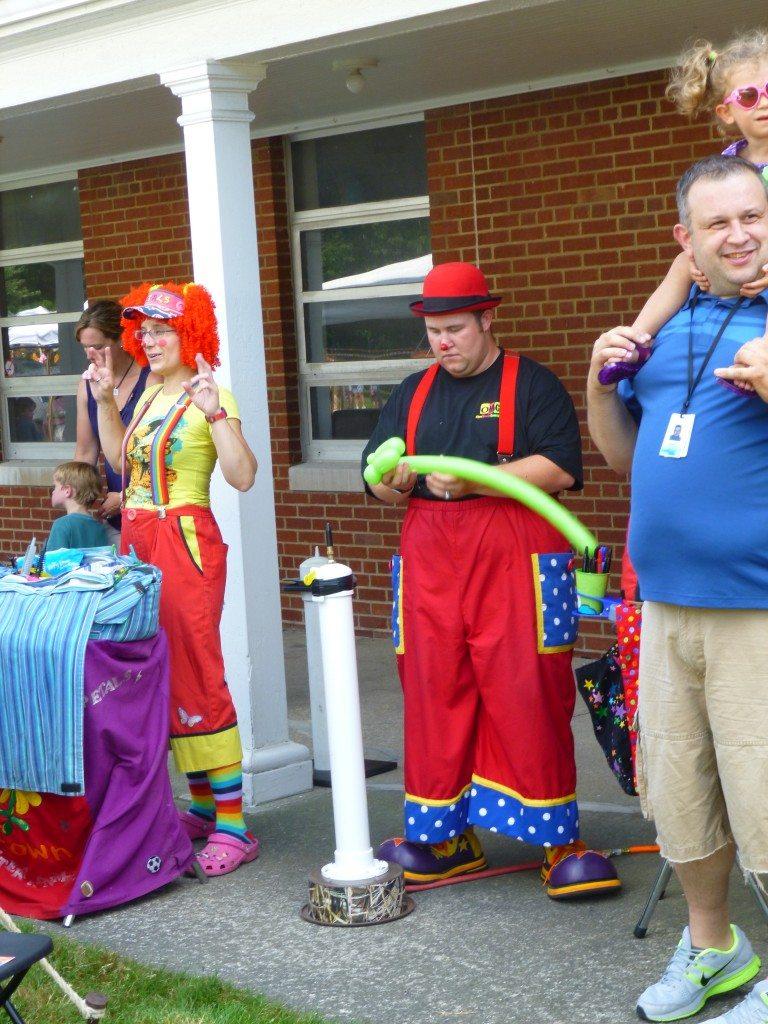 clowns balloons omg rentals cleveland