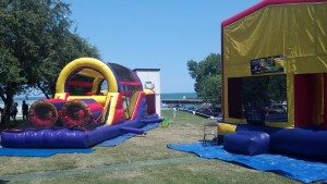 inflatables @ mentor yach club, mentor ohio