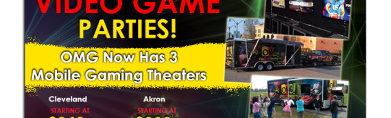 Fall is here, so the Game Trucks party times will fill up fast…