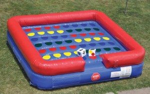 Twister inflatable giant game